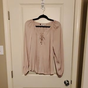 Jennifer Lopez Soft Pink Blouse